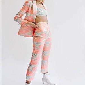 Love & Lemons Brocade Jackpot Suit Set